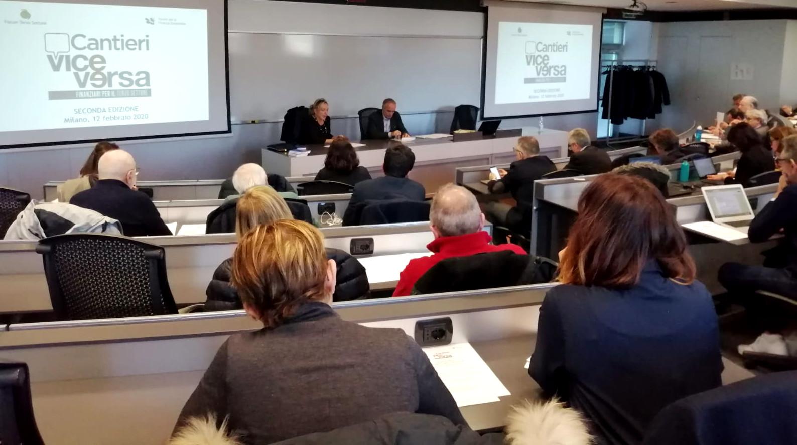 Conferenza stampa Cantieri ViceVersa 2.0 a Milano