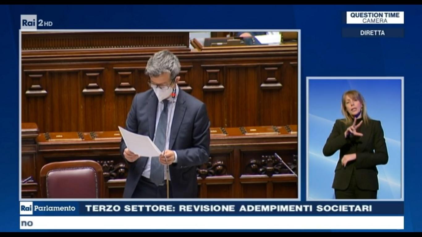 Ministro Orlando Camera dei deputati